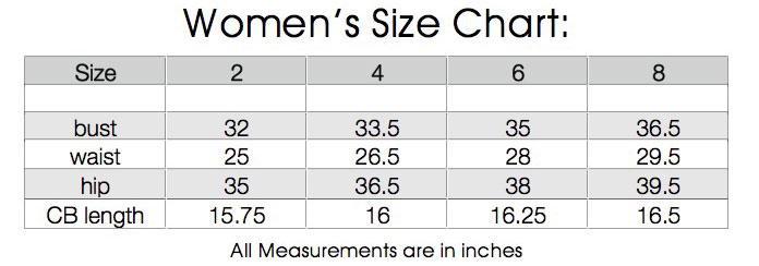 womens regular sizes