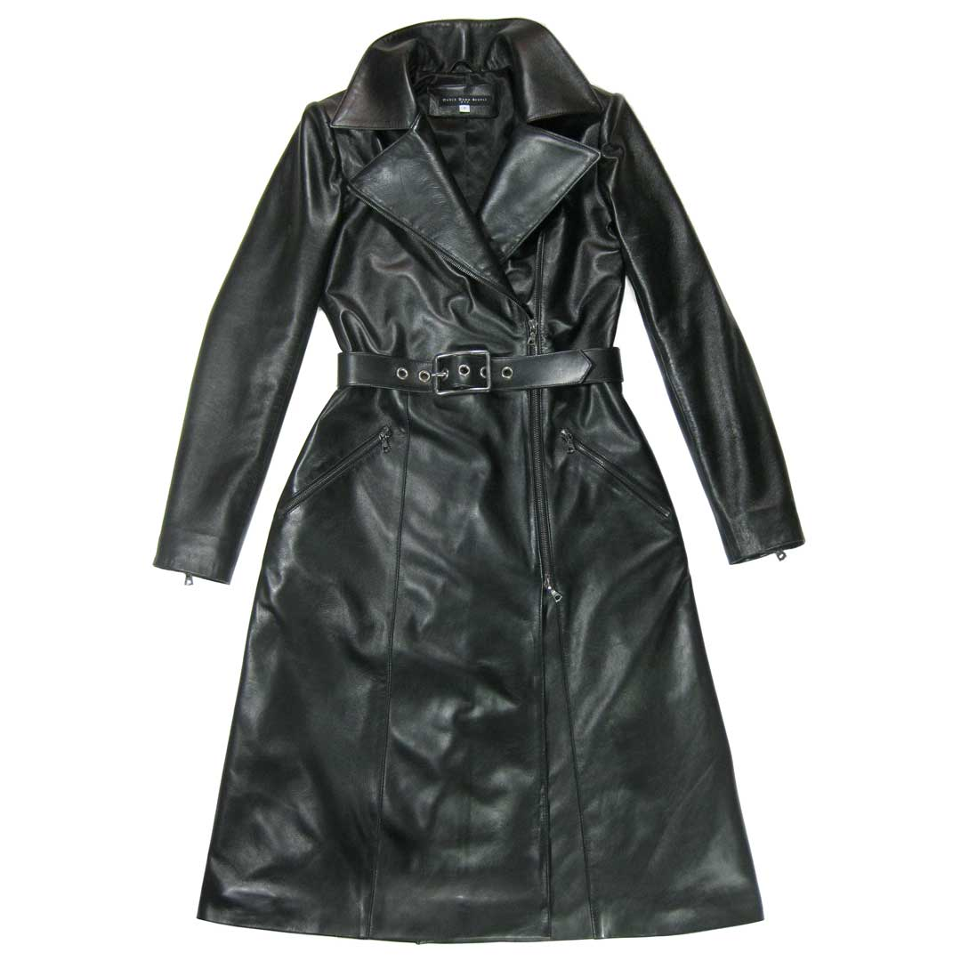 dietrich leather trenchcoat