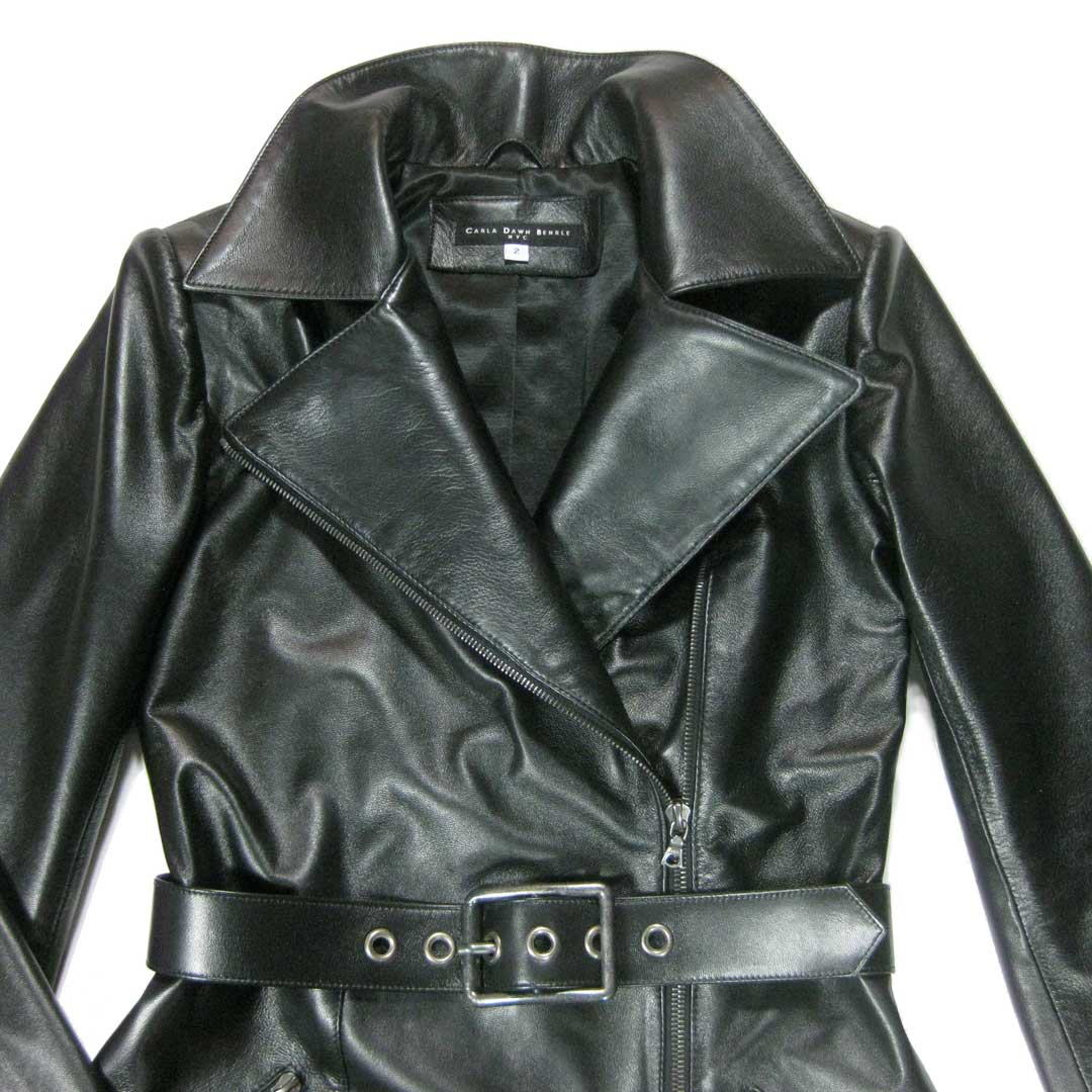 Leather Trench coat, made to order