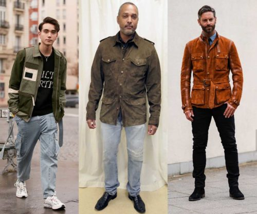 Examples of Military / Field style Jackets