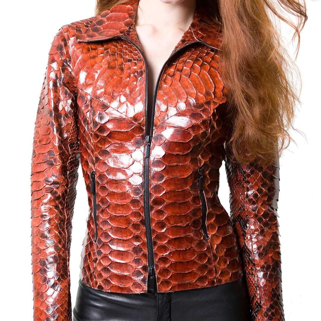 Give the gift that always fits- an example of a custom made Python Jacket