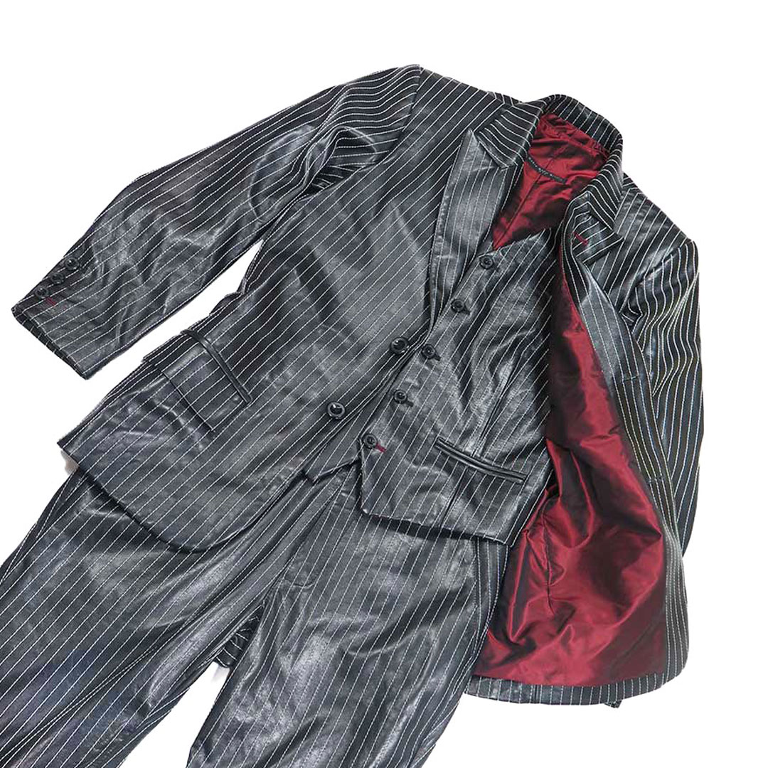 give the gift that always fits - example of a custom made leather suit