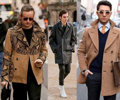 Pea Coat - Lapels and buttons