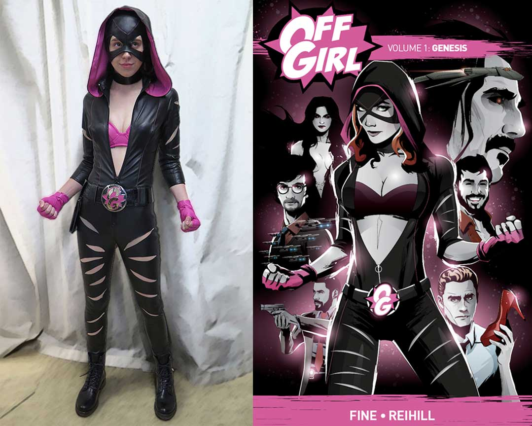 Off Girl Costume Made Real