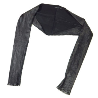 leather bolero sleeves